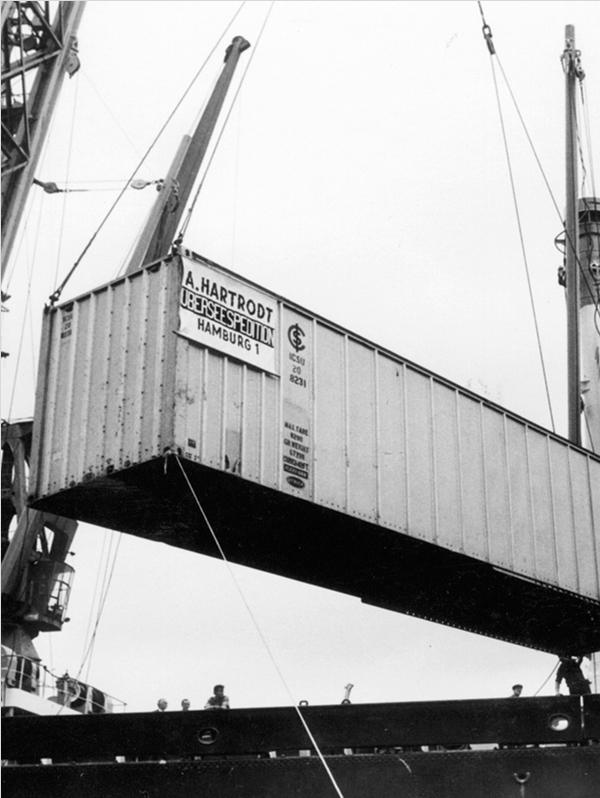 The introduction of container offers new prospects