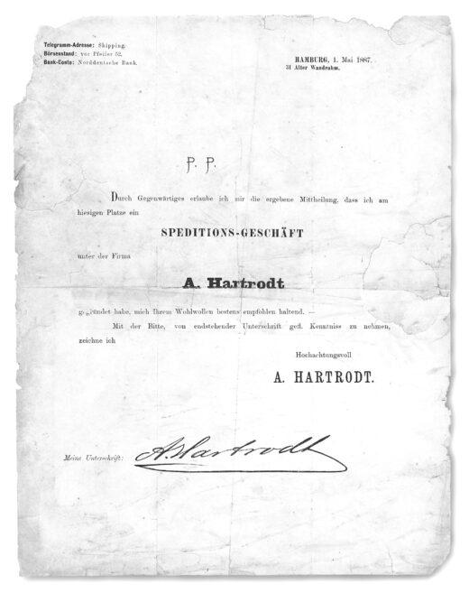 1887 Escritura de constitución
