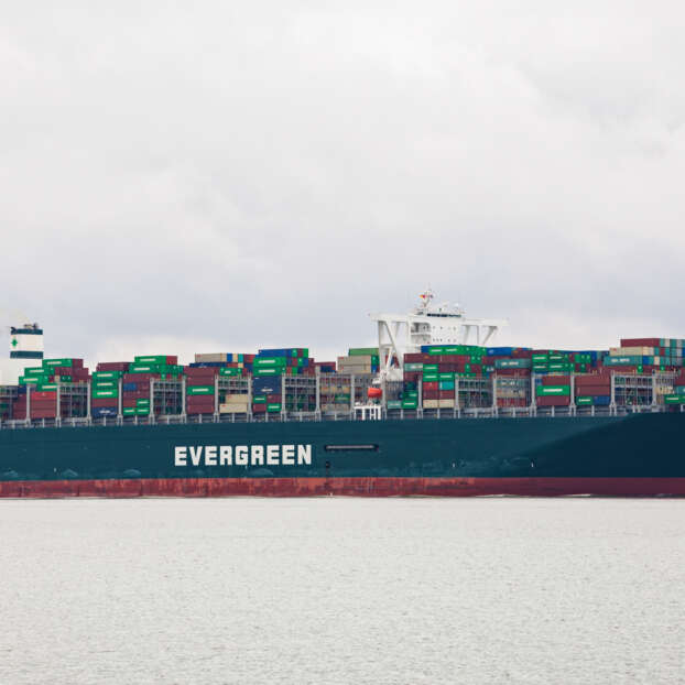 Containership Ever Given