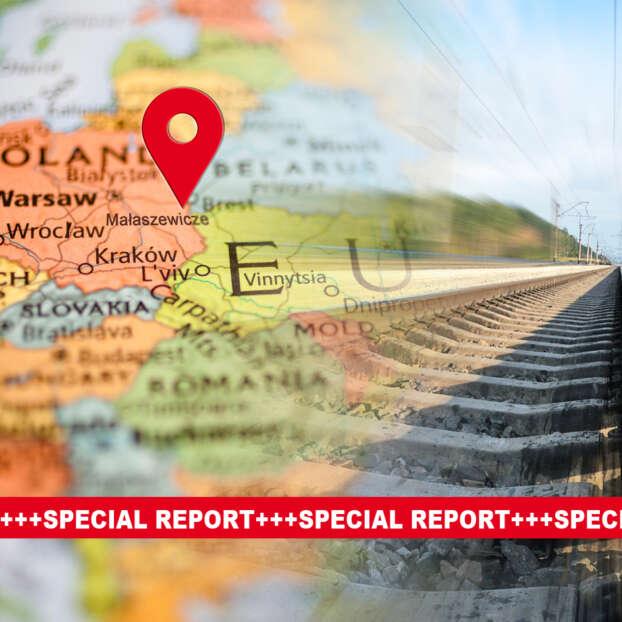 Easteuropean Map and Rail
